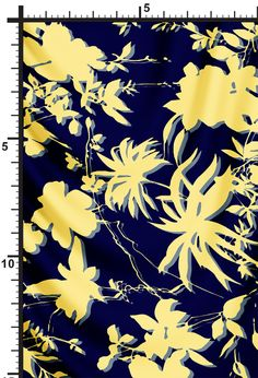 silk printed fabric hobnob
