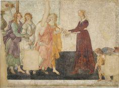 Vénus et les Trois Grâces offrant des présents à une jeune fille | Musée du Louvre | Paris
