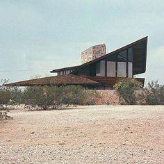 Jorgine Boomer House. Phoenix, Arizona. 1953. Usonian Style. Frank Lloyd Wright.