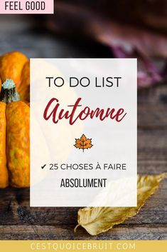 Ma to do list de l automne 25 activits faire absolument ninja birthday party ideas and supplies birthday themes Hygge, Fall Inspiration, Ninja Birthday Parties, Seasons Activities, Miracle Morning, New Start, Positive Attitude, Food Videos, Feel Good