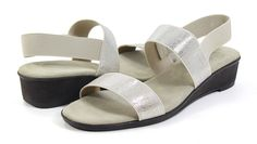 fffb341a46c4 Charleston Shoe Co. Hampton Pearla Sandal - Holly   Brooks Charleston Shoes