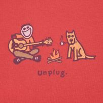 Unplug. Singing and roasting marshmallows. It just doesn't get any better than this. Oh yes it does, if you have your pups by your side!
