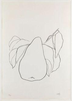 Ellsworth Kelly, Pear III, 1965/66
