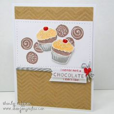 Stamping Rules!: Equal Opportunity Chocolate  August SOTM CTMH Card