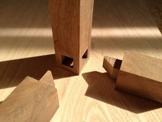 mitered tenons. Nice joinery.