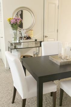 #diningroom #makeover idea, dining room inspiration, small dining room #decor
