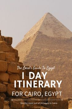 1 day itinerary for Cairo, Egypt -- what to do, see and eat in 24 hours in Cairo. Egypt Travel, Africa Travel, Central Park Manhattan, Honeymoon Places, Visit Egypt, Pyramids Of Giza, 1 Day, Cairo Egypt, Luxor