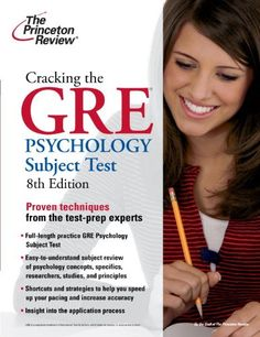 Bestseller Books Online Cracking the GRE Psychology Subject Test, 8th Edition (Graduate School Test Preparation) Princeton Review $12.15