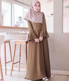 Abaya Fashion, Modest Fashion, Modest Dresses, Modest Outfits, Edgy Outfits, Fashion Outfits, Moslem Fashion, Hijab Style Dress, Hijab Fashion Inspiration