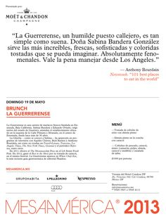 Brunch La Guerrerense