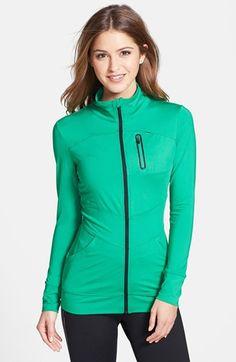 ASICS® 'Quinn' Full Zip Jacket available at #Nordstrom