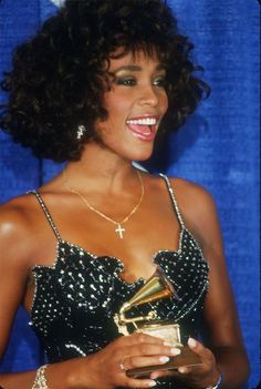 The beautiful and talented Whitney Houston