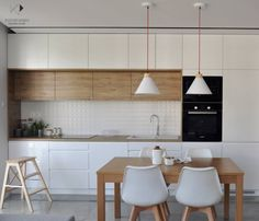 50 Best Small Kitchen Remodel Designs for Smart Space Management Ikea Kitchen, Kitchen Furniture, Kitchen Interior, Kitchen Decor, Kitchen Cabinets, Wood Furniture, Kitchen Design Open, Best Kitchen Designs, Scandinavian Kitchen