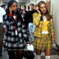We've rounded up the best Clueless Halloween costumes right here, whether you want to dress up as Cher, Dionne, Amber, or anyone else in the group. Check out our best Clueless costumes right here. Cher Clueless Halloween Costume, Cher Clueless Outfit, 90s Costume, Halloween Costumes For Kids, Clueless Cher And Dionne, Dionne Clueless Outfits, Halloween Couples, Clueless 1995, Vintage Style Outfits