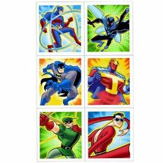 Batman Brave and Bold Sticker Sheets by Hallmark. $0.50. 4 sheets of 4 stickers. Batman Brave and Bold Sticker Sheets