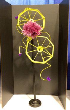 2014 Meet Me at the Fair Flower Show I, Ozark Empire Fair.  Category:  Ferris Wheel