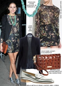 olivia-Palermo-fashion-style-floral-dress-new-york-silver-shoes1.jpg (470×651)