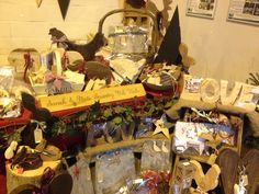 Stand at Bakewell Xmas market