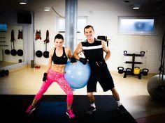 GYM BREAK - 10 min Mocny Trening z Piłką - Szymon Gaś & Katarzyna Kępka