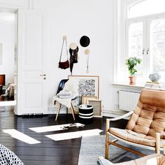 Charming sun drenched apartment in Sweden, originally designed in 1899 by architects R. Hansson & KA Löfmark, proudly exhibits its original architectural soul. Sometimes things are better left untouched. #meandmybentley