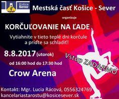 Letné korčuľovanie na ľade | Košice Sever