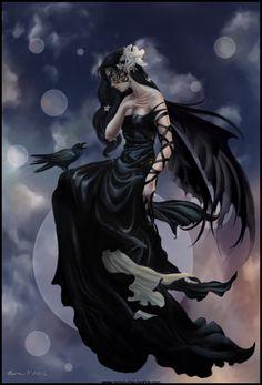Dark Skies Bubble Fairy Nene Thomas Lithograph Print in Collectibles, Fantasy, Mythical & Magic, Fairies Fairies Photos, Moon Fairy, Fantasy Kunst, Fairy Pictures, Angel Pictures, Gothic Fairy, Gothic Angel, Arte Obscura, Sky Photos