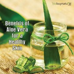 #Moisturise your #skin with #aloevera and prevents wrinkle and fine lines. Webuynatural