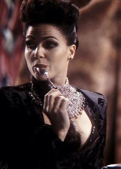 You know you're an Evil regal when you ship Lana Parrilla with a spoon. Or well, it just means you're human. Embedded image permalink