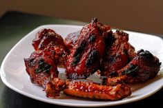 Pressure Cooker Wings with Bourbon Honey Sauce