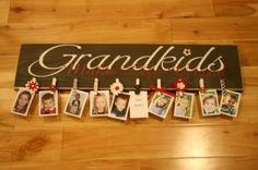 cute grandma or nana gift idea! Make one with great grand kids too!