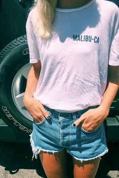 Brandy ♥ Melville | Nikola Malibu-CA Top - Graphics