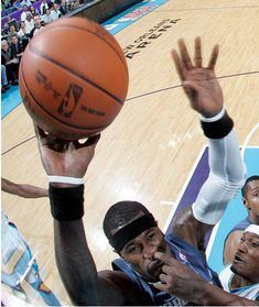 Popeln beim Basketball