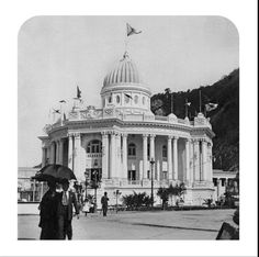 Pavilhão do Distrito Federal, na Exposição Nacional de 1908, na Urca. Fonte: Arquivo Nacional.