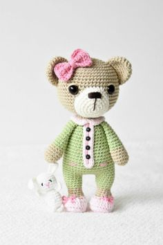 lilleliis ~ new version of Sleephyhead Bear - she is giving to her testers to check out - then probably will give pattern