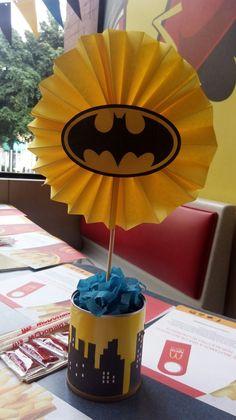 Decorado de superhéroes - Batman Party - Ideas of Batman Party #batman #party -  Decorado de superhéroes