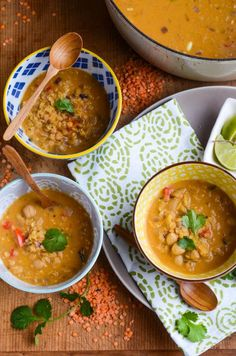 Tried - Red lentil coconut soup {vegan}, This recipe has become one of our winter staples