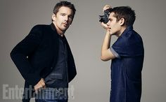 Ethan Hawke interviews his 'Boyhood' co-star Ellar Coltrane Golden Age Of Hollywood, Classic Hollywood, Boyhood Movie, Ethan Hawke, Love Plus, 2015 Movies, Great Films, Movies And Tv Shows, Actors & Actresses