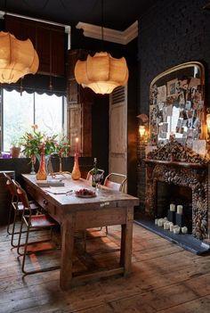 Home Dining Room Decor Hersham Sera of London House Design Furniture Interior design Images Of Fireplaces, Küchen Design, House Design, Design Ideas, Design Styles, Modern Design, Sweet Home, Interior Decorating, Interior Design