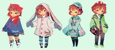 Undertale | Frisk fashion | This is so fucking cute????!!