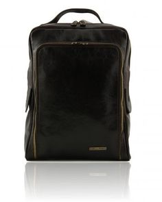 DESIGNSONLINE.CO - BANGKOK - ITALIAN LEATHER LAPTOP BACKPACK. Click on the image to see more!