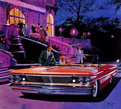 Classic Car Art :: Vintage Ads :: 1960 Pontiac Bonneville