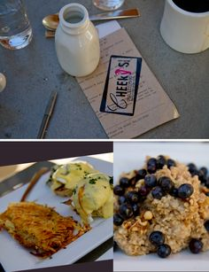 breakfast at Cheeky's in Palm Springs