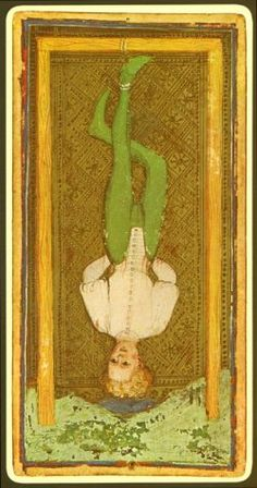 L'Appeso – Tarocchi Visconti-Sforza