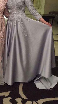 Muslim Prom Dress, Hijab Prom Dress, Hijab Evening Dress, Hijab Style Dress, Dress Outfits, Evening Dresses, Fashion Dresses, Modest Dresses, Ball Dresses
