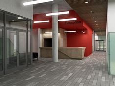 Архитектурное бюро «Этаж» - проектирование зданий, ландшафтное проектирование, разработка дизай-интерьеров | МФЦ «Тетра Электрик»