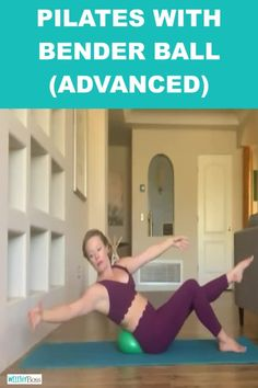 Pilates with Bender Ball Advanced Pilates Workout Video This Pilates with Bender Ball is an advanced total body workout utilizing Bender Ball exercises For an advanced P. Pilates Workout Videos, Pilates Abs, Pilates Training, Videos Yoga, Pilates Poses, Home Workout Videos, Pilates Reformer, Pilates Routines, Pilates Ring