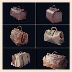 Antique medical bags