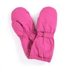 Waterproof Fleece Lined Mittens in Fuschia | JoJo Maman Bebe