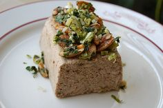 Mushroom Pate (Adapted from Vegetarian Cooking for Everyone by Deborah Madison)