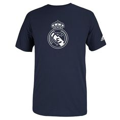 adidas Real Madrid Team Crest Tee - Men Real Madrid Team beef69b32b0a7